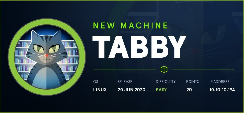 Tabby HackTheBox Walkthrough
