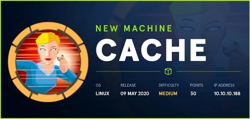 Cache HackTheBox Walkthrough