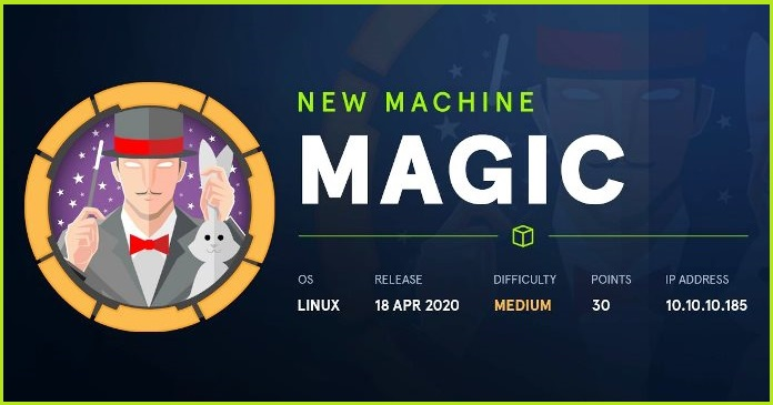 Magic HackTheBox Walkthrough