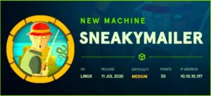 SneakyMailer HackTheBox Walkthrough