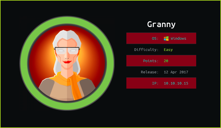 Granny HackTheBox Walkthrough