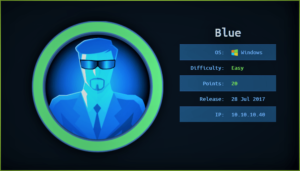 Blue HackTheBox WalkThrough