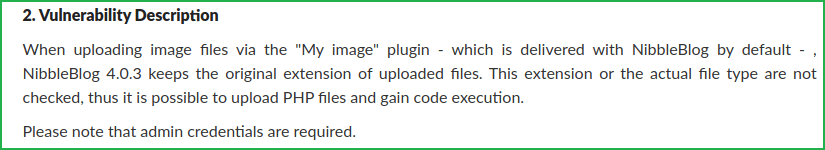 Exploit snippet from the website curesec.com