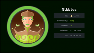 Nibbles HackTheBox WalkThrough