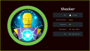 Shocker HackTheBox WalkThrough