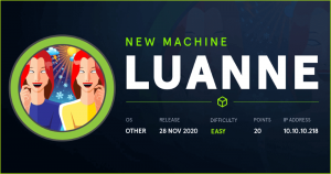 Luanne HackTheBox WalkThrough