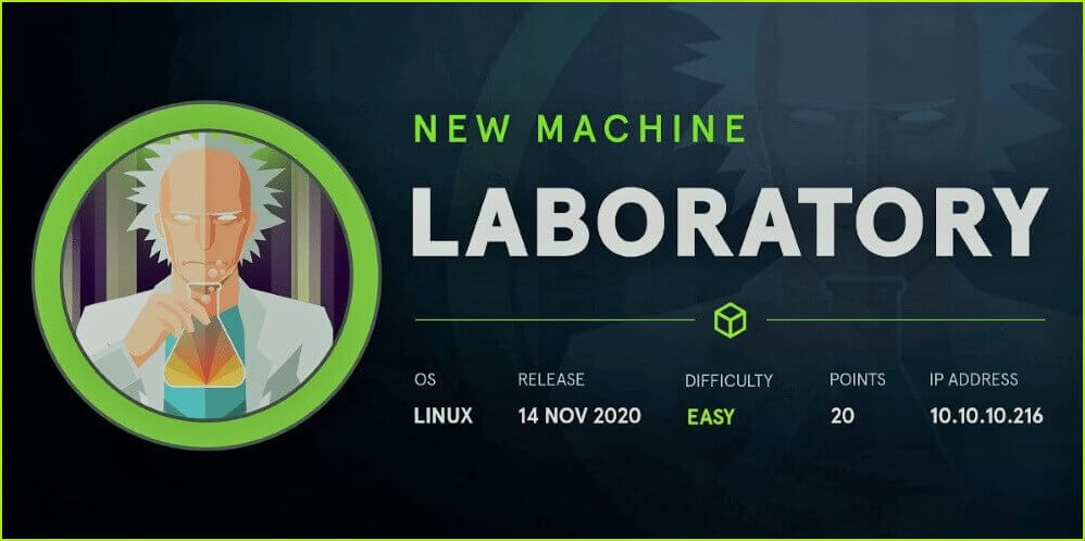 Laboratory HackTheBox WalkThrough