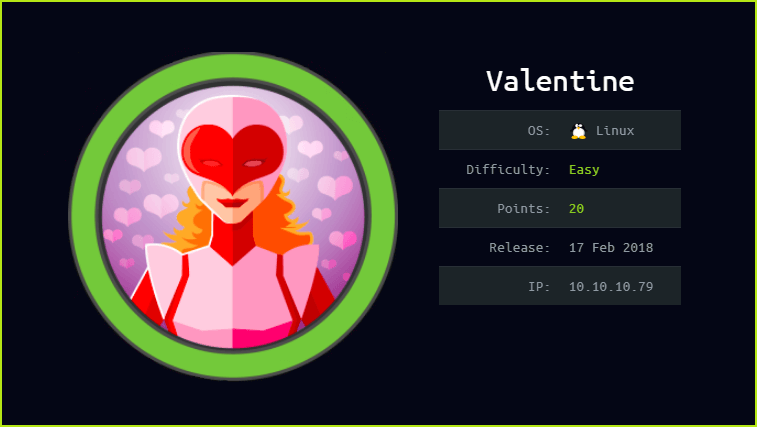 Valentine HackTheBox WalkThrough