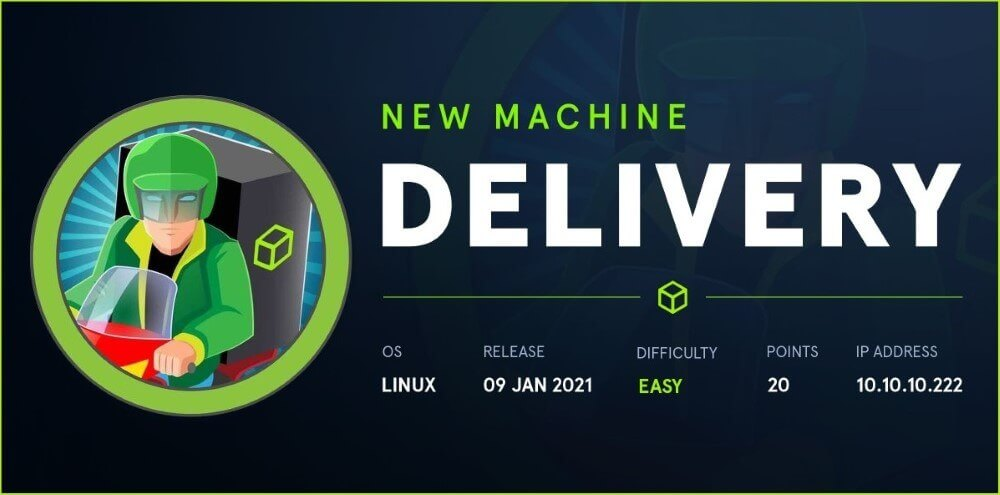 Protected: Delivery HackTheBox WalkThrough