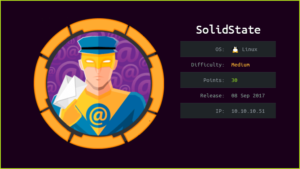 SolidState HackTheBox WalkThrough