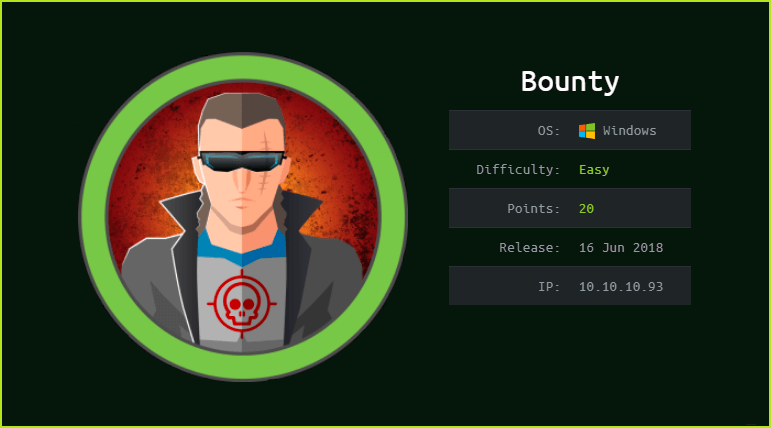 Bounty HackTheBox WalkThrough